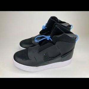 NEW Nike Vandalised Sneakers Black Blue White